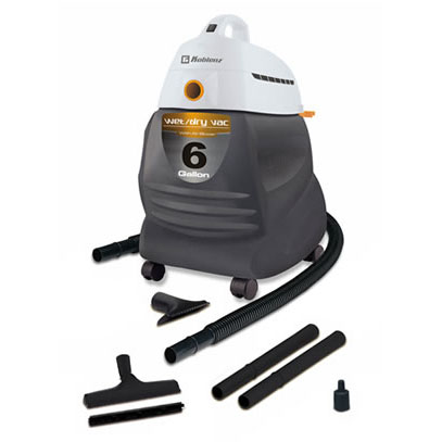 Koblenz 6 Gallon 2 Peak H.P Wet/Dry Vacuum Cleaner Shop Vac WD-650 KG US