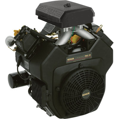 Kohler 30hp Command Pro Horizontal Engine 1.437in (1-7/16)X 4.453in (4-29/64) Shaft CH750S-3006