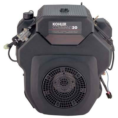 Kohler 20hp Command Pro Horizontal Engine Electric Start 1-7/16in x 4.45in Shaft PA-CH20S-6450-60203