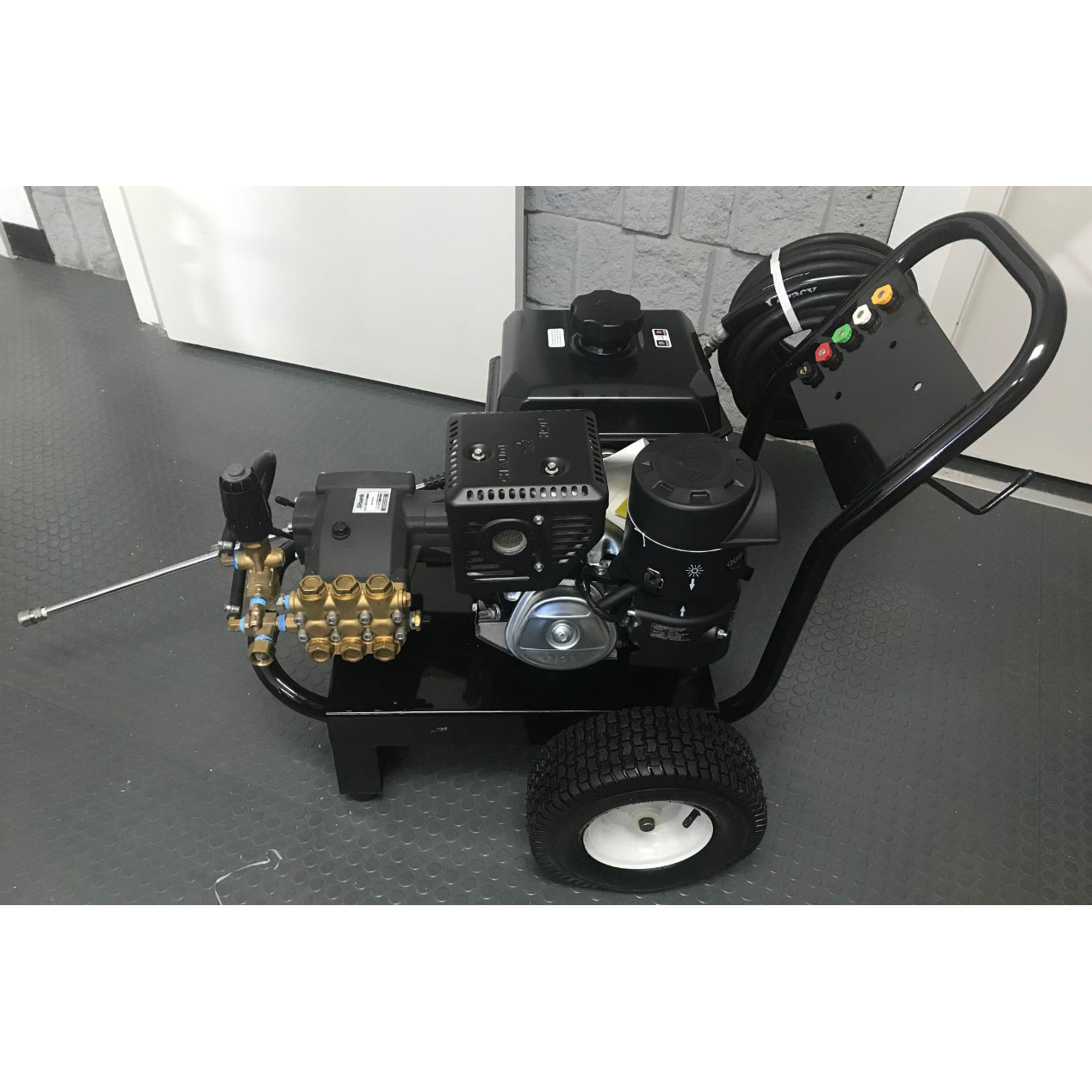 Clean Storm 4000 psi 4 Gpm 14Hp Kohler 440cc Karcher Pressure Washer Steel Cart with Hose And Nozzles 20210210