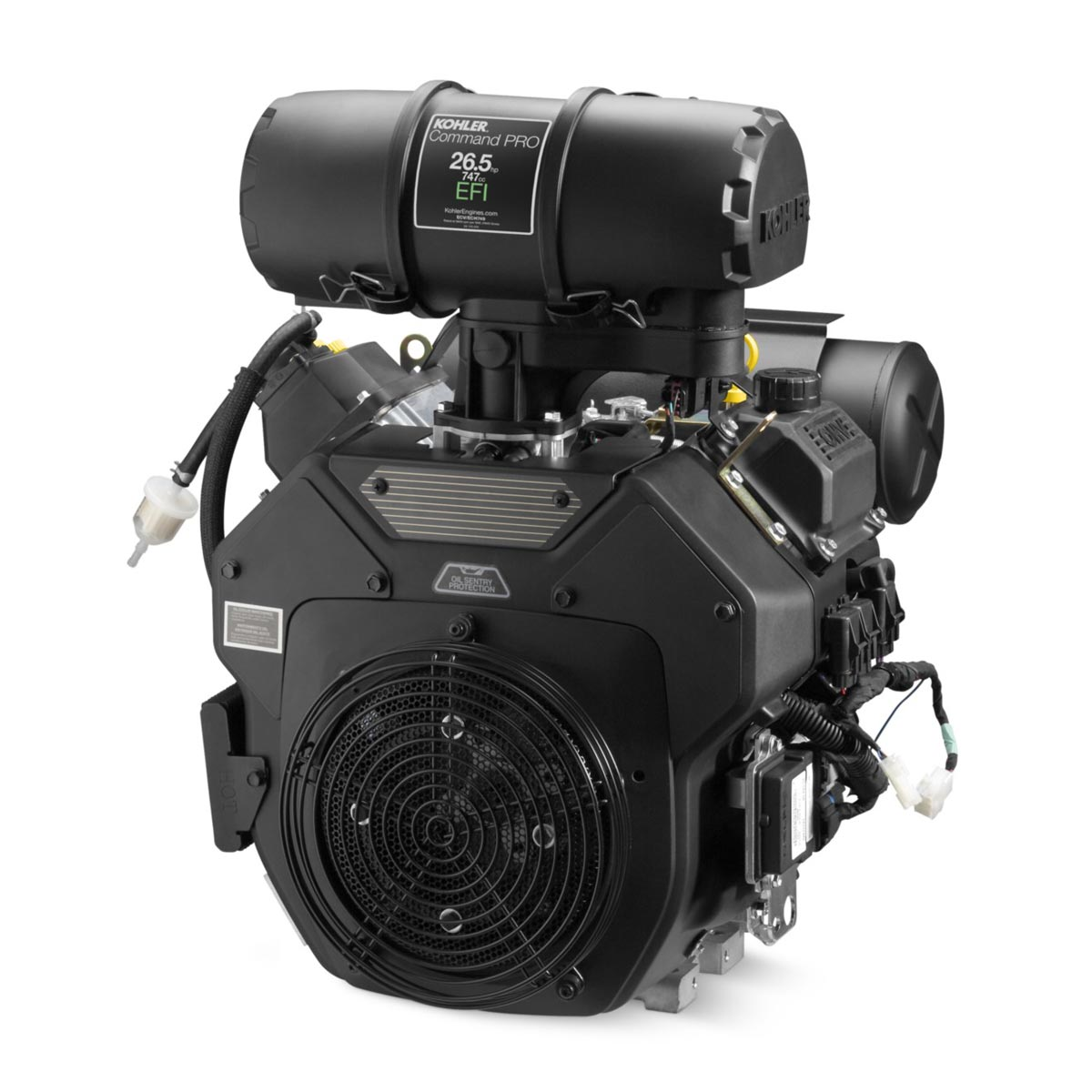 Kohler PA-ECH749-3001  26.5 Hp Engine HDAC Heavy Duty Air Cleaner Fuel Injected EFI PA-ECH749-3061