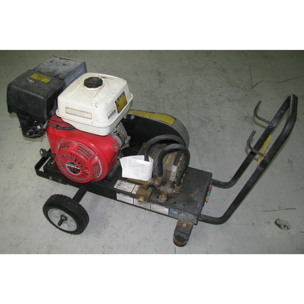 Used Karcher Landa PGS4-30321 Cold Pressure Washer Honda 11 Hp 3000 psi 3.5 Gpm