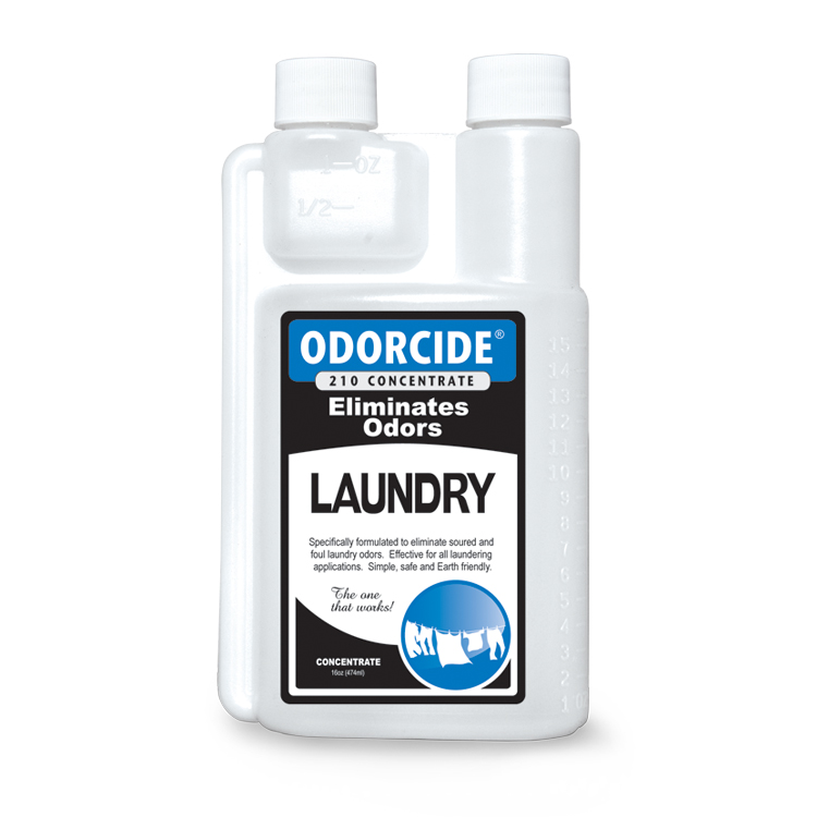 Odorcide 210 Laundry Concentrate Master Case (2-12 packs of 16 oz. bottles)