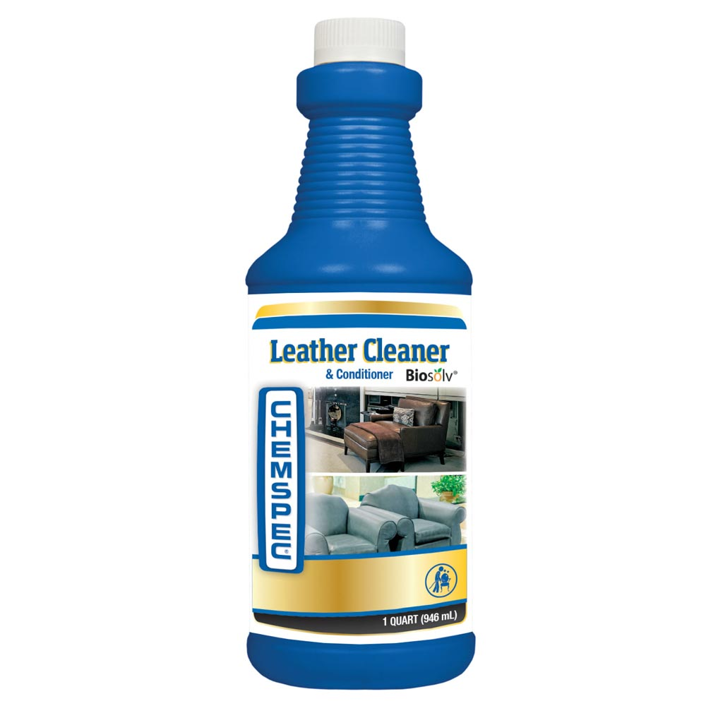 Leather Sofa Cleaner: Chemspec C-lccs Leather Cleaner And Conditioner 12 Qt Case