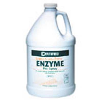 Nilodor C004-005 Liquid Certi-Zyme Enzyme Pre-Spray 8 Gallon / 2 cases