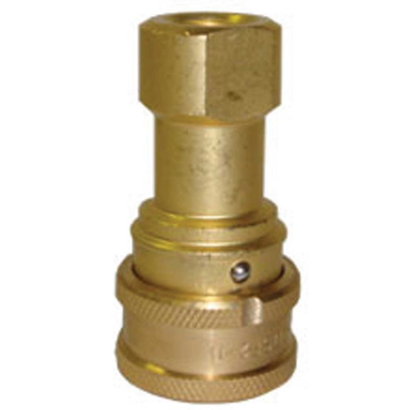 NA0703  1/4 inch Brass Locking QD Coupler Female Secure Lock [8.697-085.0] SM104QDL