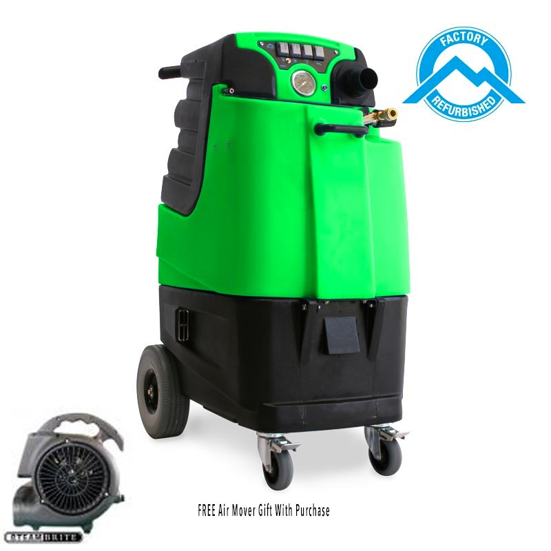 -Mytee LTD12G-R Refurbished Speedster Tile and Carpet Cleaning Machine 12gal 1200psi Dual 3 Stage Vacs Auto Fill Auto Dump Green Serial REFB08170209