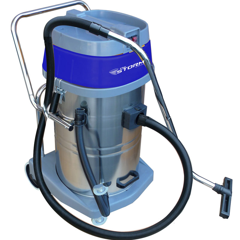 Mercury Storm Wet Dry Tank Vacuum Dual Motor 20 Gallon Poly Tank