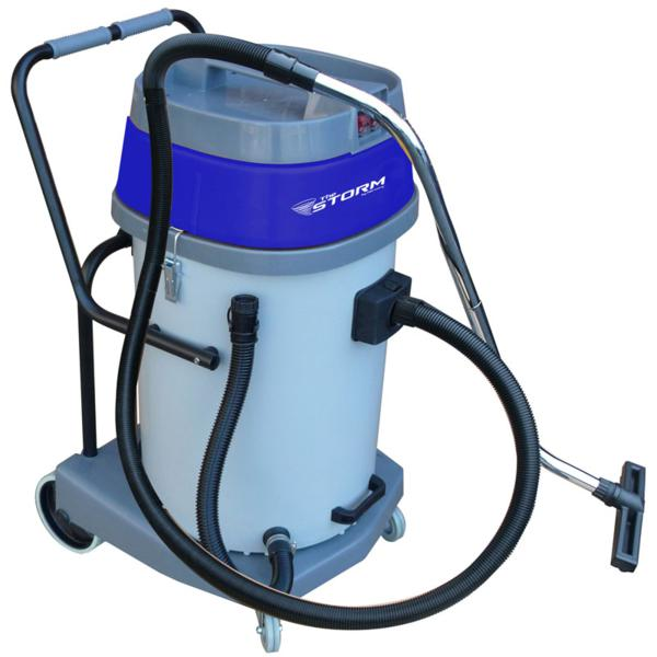 Mercury WPC-20 Storm Poly Tank 20 Gal / 75 L Capacity Wet and Dry Vacuum 2.67HP 225CFM 2000Watt