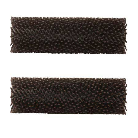 Hydroforce MH53D: Aggressive Brown Brush (Pair) for Brush Pro 17 MH170 Tile and Grout Cleaning - 1643-4666