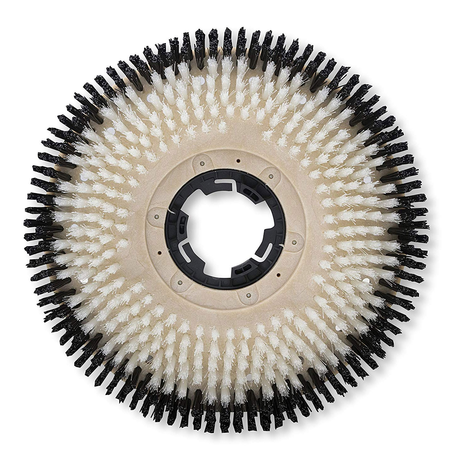 Malish 812915NP Nylon 15inch Tuff-Block Carpet Brush with Clutch Plate