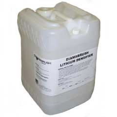 Malish: DiamaBrush Lithium Densifier For Stone Floor Care, (5 Gallon Pail)