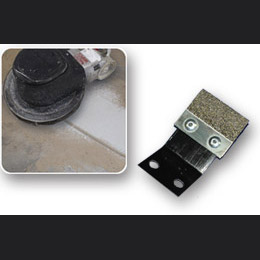 Malish: Diamabrush Replacement Concrete Metal Blade Kit---Blades & Bracket---100 Grit (Quantity 16)