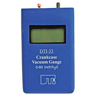 Tiny Tach DTI-721-01 Manometer Engine Crankcase Vacuum Gauge