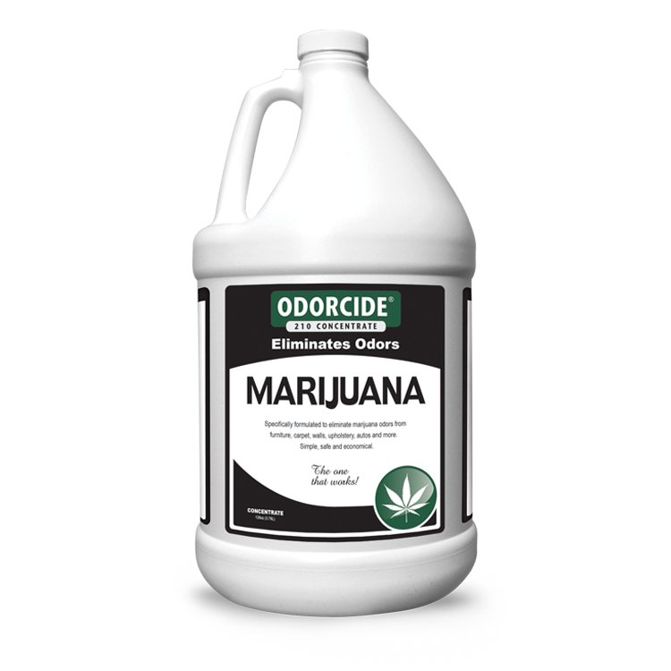 Odorcide 210 Marijuana Master Case (4-1 Gallon Bottles)