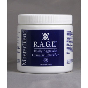MasterBlend 102102  RAGE Powder (12/1 Jar Case) UPC 672835102114
