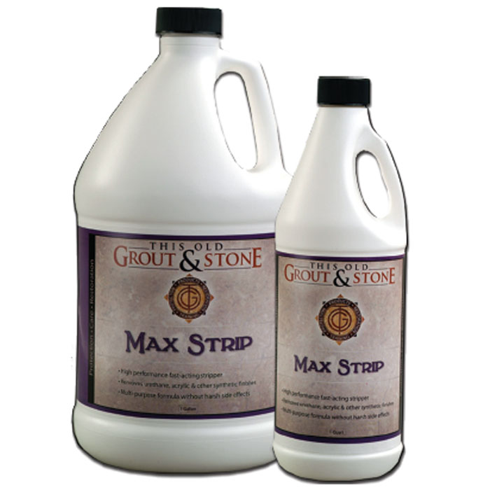 This Old Grout and Stone Max Strip 1 Gallon