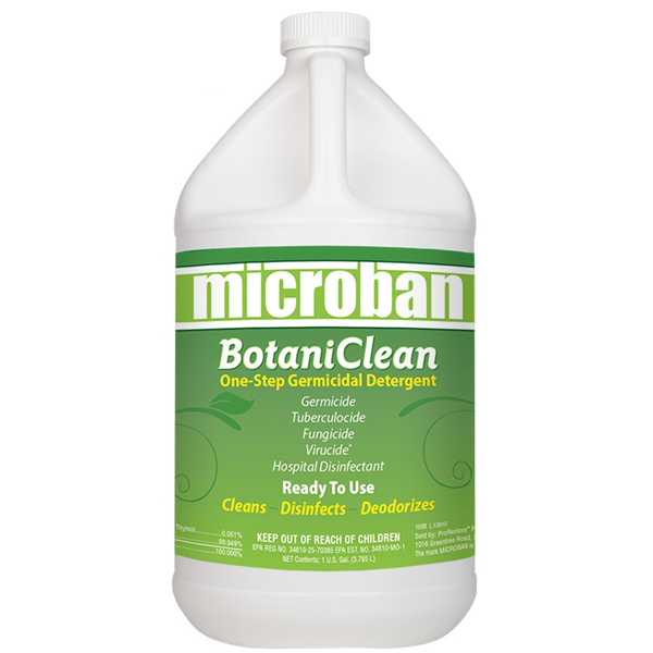 Chemspec 221262000 Microban Disinfectant Hospital Spray 259105 (4/1 Gallon Case) Pro Restore Mediclean F368 Canada Only