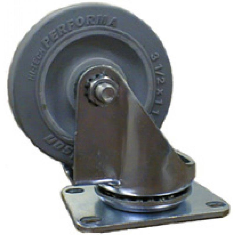 Minuteman, Nilfisk/Advance/Clarke/American Lincoln Swivel Caster w/ Bolted Flange, 3-1/2 x 1-1/4 (8.660-872.0)