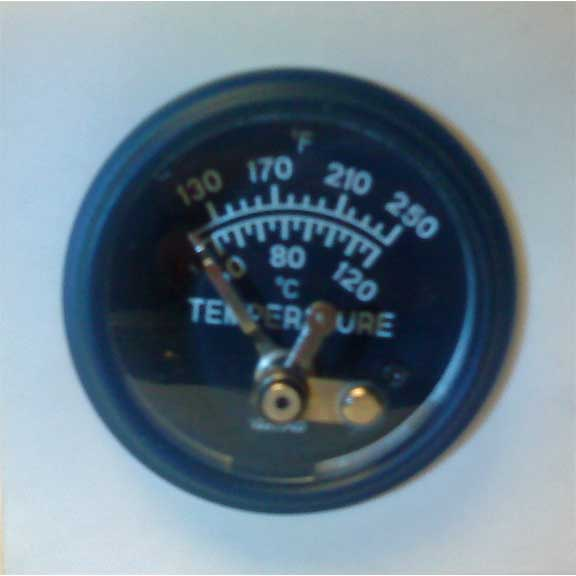 Switchable Temperature Gauge used on many Truckmounted carpet cleaning machines Switch Gauge 20140107