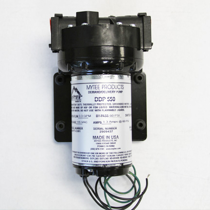 Aquatec 60psi Pump Out Pump 3.3 GPM 230 Volts Auto Dump Out 5503-2E6E-V716 Mytee C381A  12654A