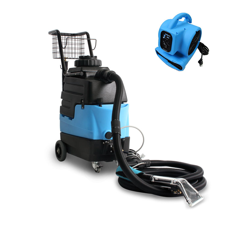 Mytee 8070 Lite III HEATED Auto Detail Upholstery Carpet Cleaning Extractor Bundle with AIR MOVER our choice freight included