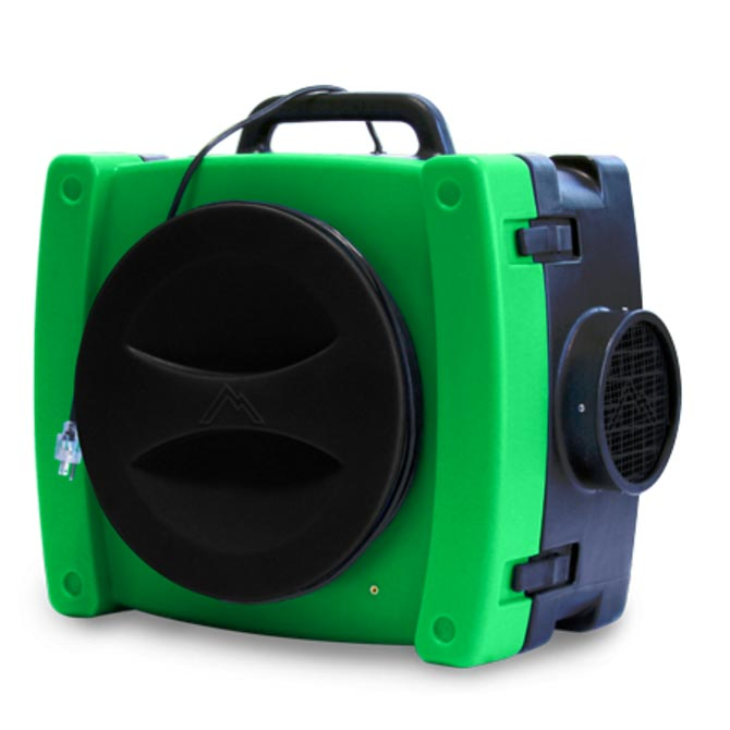 Mytee VAS525G Vanquish Air Scrubber/Negative Air Machine GREEN FREE Shipping FREE 3 Yr Warranty