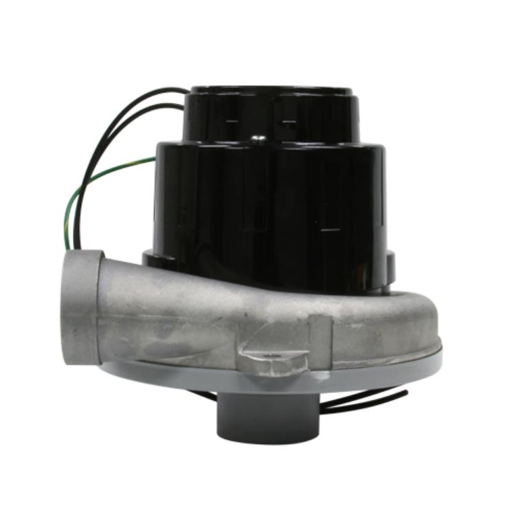 Mytee C348 Ametek Lamb Vacuum Motor Blower 6.6 Inches W/ 2in inlet tube CONE 120 volts Tangential 2 Stage 1 Speed