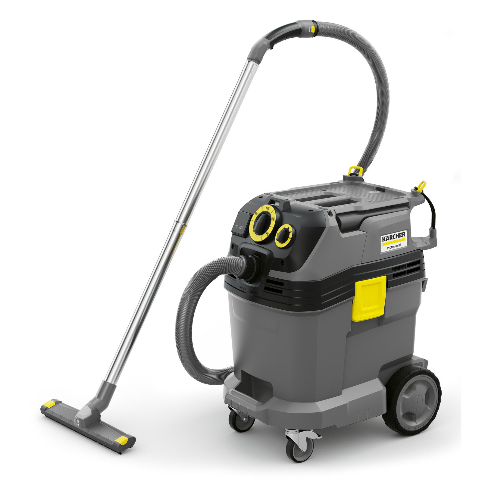 Karcher NT 50/1 Tact Te HEPA with power outlet (automatic on/off switch) and Tact filter cleaning 1.148-416.0 Shop Vacuum FREE Shipping