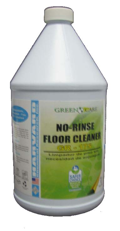 Harvard Chemical No Rinse Floor Cleaner GR-175 6002-1  1 Gallon