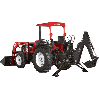 NorTrac: 50XT 50 HP Tractor with Loader & Backhoe-188532