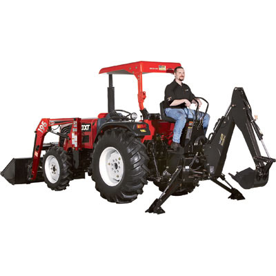 NorTrac 511325 35XT 35 HP Tractor with Loader and Backhoe