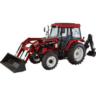 NorTrac 70XT 70 HP Tractor with Loader & Backhoe-511323 (Free Shipping)