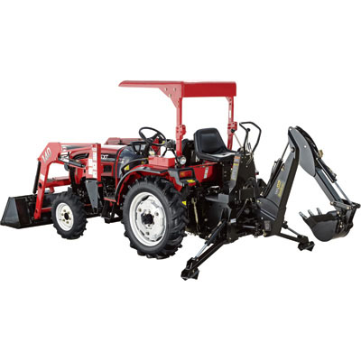 NorTrac:Tractor with Loader & Backhoe-25XT 25 HP-511255 FREE Shipping