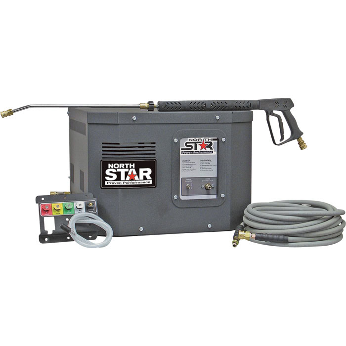 NorthStar 157304 Electric Cold Water Stationary Pressure Washer 3000psi 2.5gpm 230volt FREE Shipping