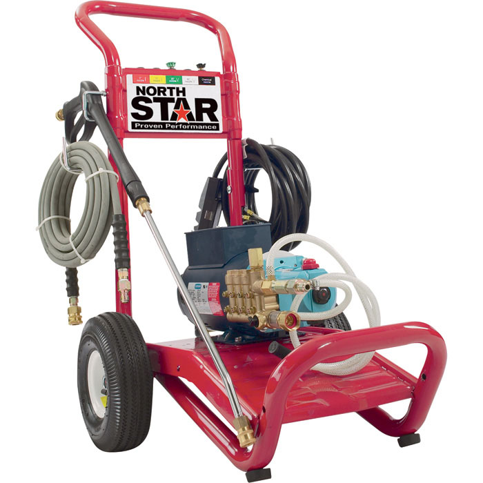 NorthStar 1573021 Cold Water Electric Pressure Washer 2.5gpm 3000psi 230volt 5hp FREE Shipping