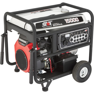 NorthStar 165607 Generator 15000 Surge Watts 13500 Rated Watts Electric Start EPA Phase 3/CARB-Compliant 688cc