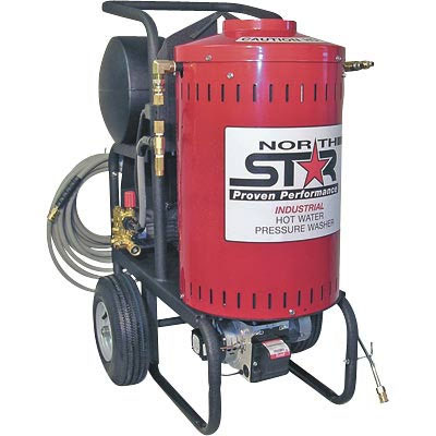 NorthStar 157305: Electric Wet Steam & Hot Water Pressure Washer 1700 PSI, 1.5 GPM, 120 Volt FREE Shipping