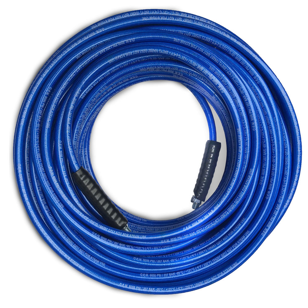 Steambrite Turbo Heat Thermo Retention Hose 75 ft 3000 psi 250 degree Holds in More Heat 20120112 Nylon Braid 3/8 ID