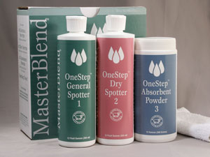 MasterBlend 188002 Onestep Spotting Kit - 3Part (Case of 6 Kits) UPC 672835188019
