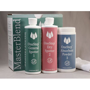 MasterBlend 188102 OneStep Spotting Kit-Absorbent Powder (Case of 12 1 Pound Jars) UPC 672835188118  [188102-1]