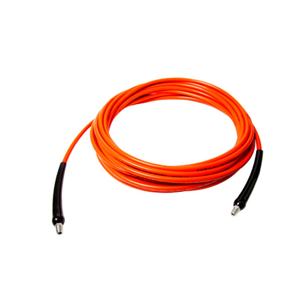 HydroForce HydroCoil Orange Truckmount Solution Hose 1/4 ID X 50 ft long 105911