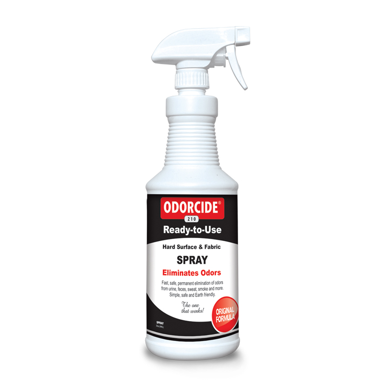 Odorcide 210 Original Ready to Use Spray Master Case (12-32 oz bottles)