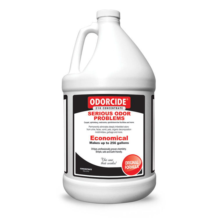 Odorcide 210 Original Concentrate Master Case (4-1 Gallon Bottles)