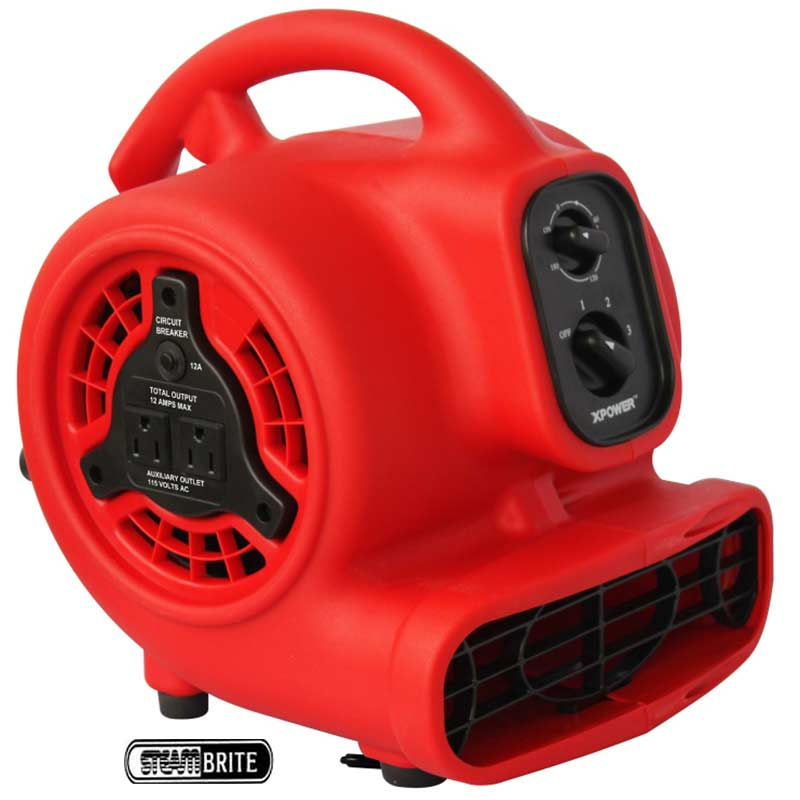 XPower Carpet Flood Restoration Air Mover P-200AT FREE Shipping