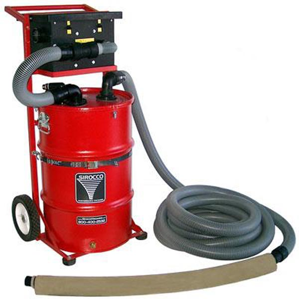Sirocco PEV2 Pressure Washer Vacuum Recovery 200cfm Dual 3 stage 145in Water Lift 30 gallon Tank Machine only