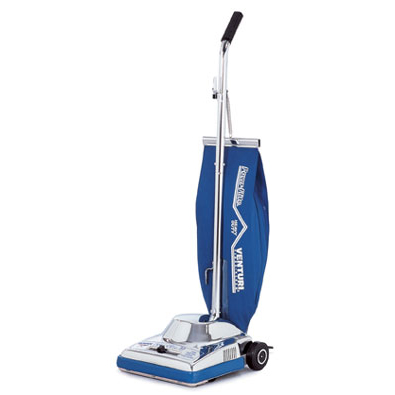 Powr-Flite: 16 Inch Upright Vacuum 16 inch upright vacuum with headlight, paper bag