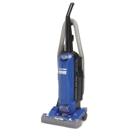 Powr-Flite: Tools-on-board HEPA vacuum 15 inch HEPA upright vacuum with tools