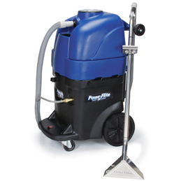 Powr-Flite PFX1382CW Commercial Upright Extractor - 200psi - 2/2Vacs - 2000 Watt Heater