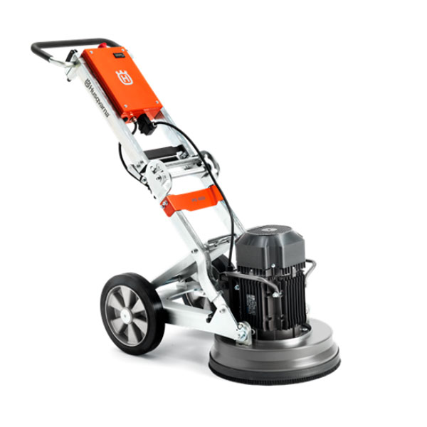 Demo Husqvarna PG 400 Concrete Floor Grinder 480v 3 Phase 10Amp 4Hp 16Inch [967966405A] Used PG400 1140Rpm Rated A